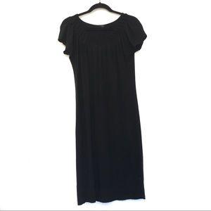 [TALBOTS] Petite One Size Short Sleeve Midi Dress